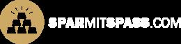 Sparmitspass.com - Logo - Weiss
