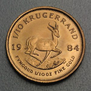 Kruegerrand Fein-Gold-Münzen kaufen